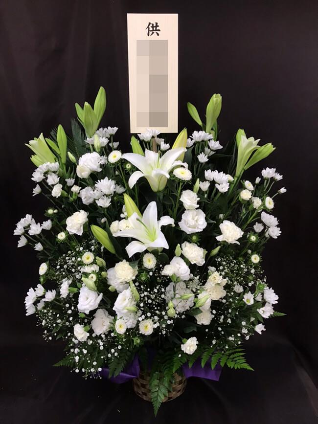 お盆お供え花1