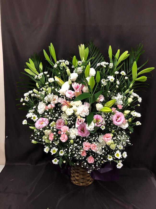 お盆お供え花4