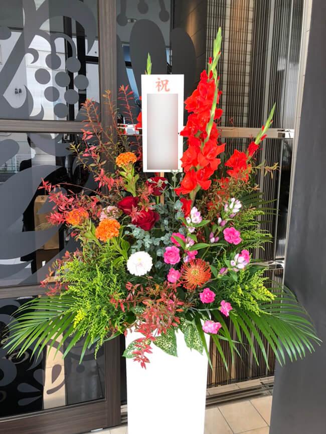 宝飾店イベント装飾花2