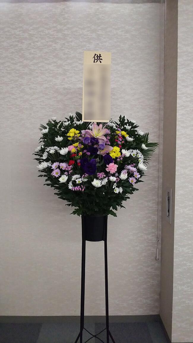 ご葬儀用お供え花3