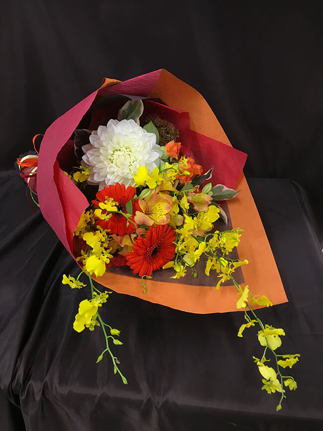 お祝い花束1