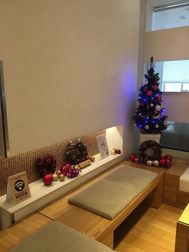 ホテルクリスマス装飾3
