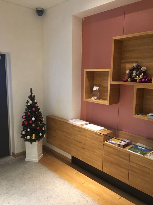 ホテルクリスマス装飾4