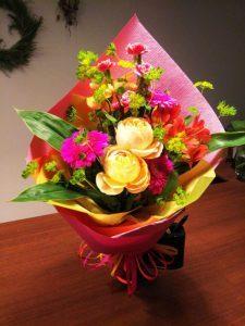 [事例紹介]お祝い花束