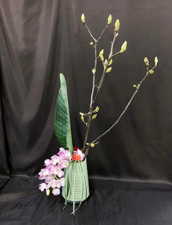 企業への定期届け〔花瓶花〕3