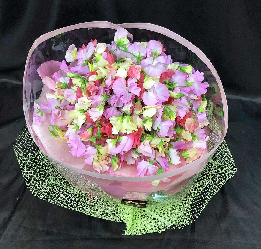 スイトピーの花束1