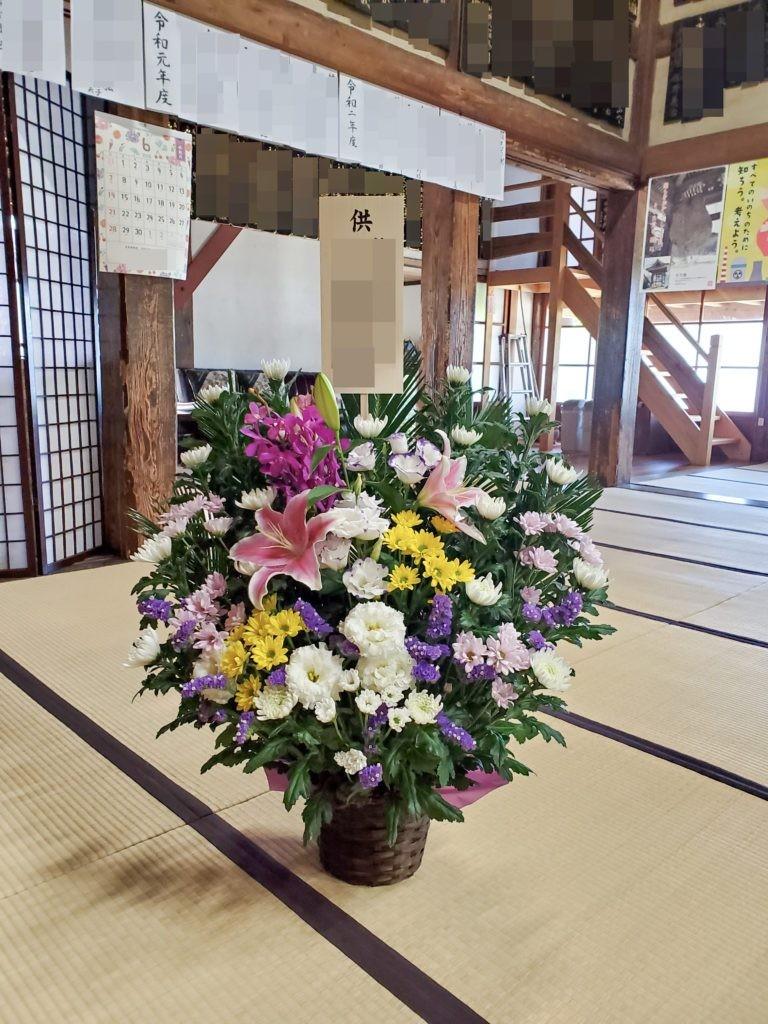 長野の花屋 ヌボー生花店 | 事例紹介 > 【事例紹介】故人を偲ぶお供え ...