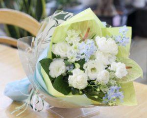 【今日の花贈り】8/7 店舗移転お祝い用の花束
