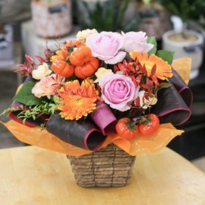 【今日の花贈り】9/26 88歳の女性へ贈る誕生日のアレンジメント