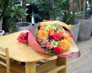 【今日の花贈り】12/3 退任される社長様へ。感謝を込めた花束