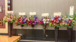 【事例紹介】美容学校の入学式に贈るお祝いスタンド花