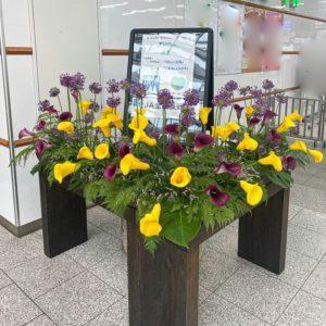 【事例紹介】長野県産のお花を長野駅で