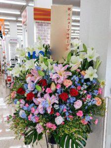 【事例紹介】靴ショップのリニューアルオープンに贈るスタンド花