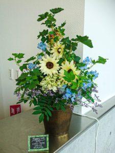 【事例紹介】企業様にお届けの定期花