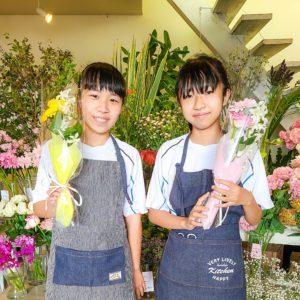 【笑顔を運ぶ花贈り】初めての花束作り
