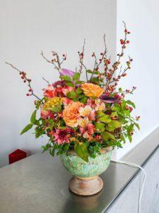 【事例紹介】企業様に毎週お届けの定期花
