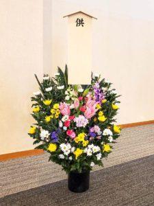 【事例紹介】故人を偲ぶお供えのお花